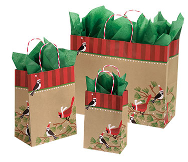 Snowbirds Paper Shopping Bags