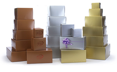 Special Order Metallic Luster 2 Piece Lock Corner Boxes