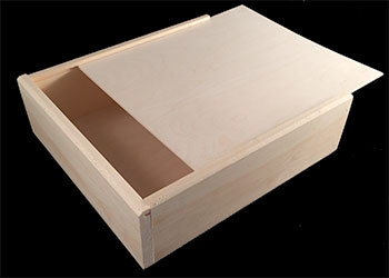 Wooden Slide Top Boxes Us Box Corp