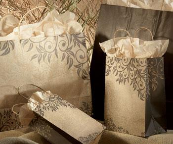Sumatra Designed Paper Shopping Bags