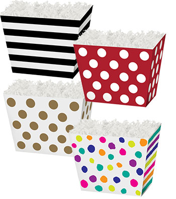 Tapered Gift Basket Boxes