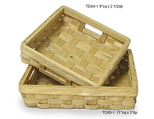 Woodchip slat tray - Sm.
