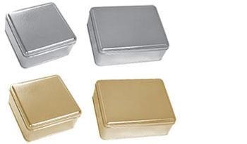 2 Piece Metallic Tins