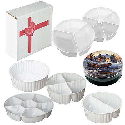 Bands, Boxes and Liners For Cookie Tins