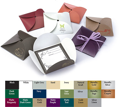 Special Order Tulip Style Certificate Folder
