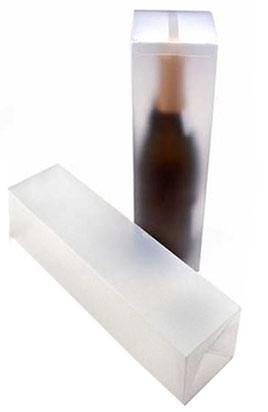1 Piece Single Bottle Frosted Wine Box