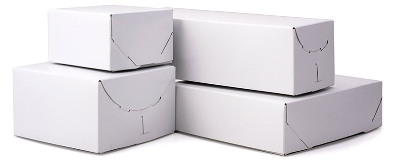 Ohio Valley White Gloss Lock Corner Boxes
