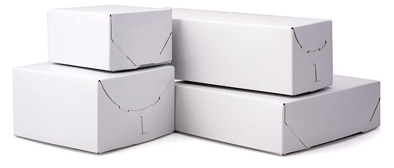 Ohio Valley White Gloss Lock Corner Boxes
