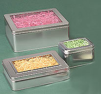 Windowed Tins