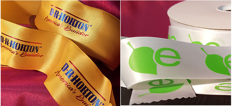 Wire Edged Polyester Printed Fabric Ribbon