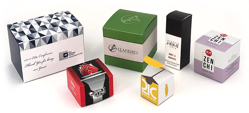 Full Color Bleed Folding Tuck Boxes