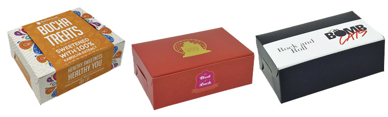 Full Color Bleed Folding Candy Boxes