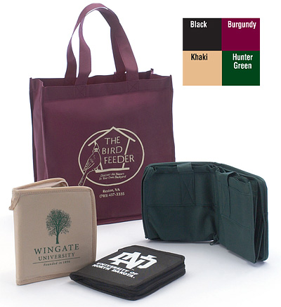 Non Woven Zip Up Tote